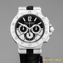 Bulgari Diagono Chronograph Calibre 303 BOX&PAPERS DG 42 SCH
