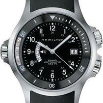 Hamilton Uhr Khaki Navy GMT Automatik H77615333