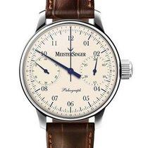 Meistersinger Uhren Herrenuhr Einzeigeruhr Chronograph...