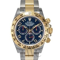 Rolex Daytona Blue/18k gold Ø40mm - 116503