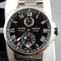Ulysse Nardin Maxi Marine diver black dial Chronometer power...