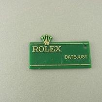 "Rolex Datejust Grüner Hang Tag ""big Crown"" Hangtag..."