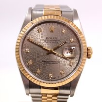 Rolex Datejust Jubilee Gold/Steel Special dial with Diamonds