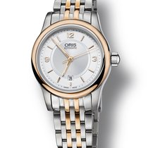 Oris Orils Ladies 561 7650 4331-07 8 14 63 Classic Date Watch