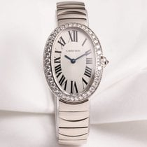 Cartier Lady Baignoire WB520006 Diamond 18K White Gold
