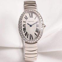 Cartier Lady Baignoire WB520006 Diamond 18K White Gold