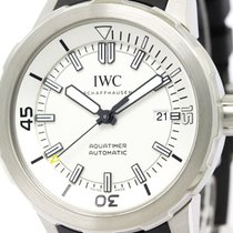 IWC Polished Iwc Aqua Timer Steel Rubber Automatic Mens Watch...