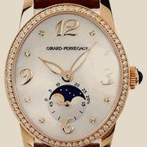 Girard Perregaux Worldtimer Cats Eye Diamond 18kt Yellow Gold...