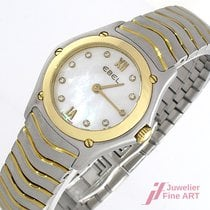 Ebel Classic Wave Lady - Stahl/Gold  27 mm - Quarz - Box &...
