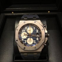 Audemars Piguet Royal Oak Offshore Chronograph NAVY -WIE NEU...