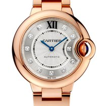 Cartier Ballon Bleu 18K Solid Rose Gold Diamonds