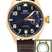 IWC Big Pilot pink gold 18K blue dial Le Petit Prince 500909 NEW