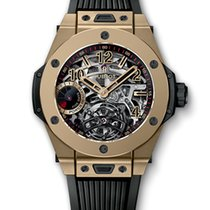 Hublot Big Bang Tourbillon Power Reserve 5 Days Full Magic Gold