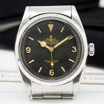 """Rolex 6610 Vintage Explorer I Gilt """"Chapter Ring"""" Dial..."""