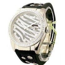 Rolex Unworn 116189 Zebra Special Edition 116189 in White Gold...