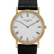 Patek Philippe Montre  Calatrava Clous De Paris en or jaune...