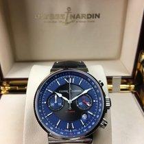 Ulysse Nardin Maxi Marine Chronograph Blue Dial