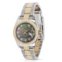 Rolex Datejust 179163 Ladies Watch in 18k Yellow Gold/Steel