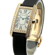Cartier WB707931 Ladys Size - Tank Americaine with Diamond...
