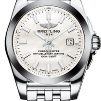 Breitling W7234812/A784-791A Galactic 29mm Quartz in Steel -...