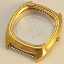 Omega Megaquartz Watch Case Crystal Crown 196.0038 Cal. 1310...