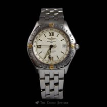 Breitling Rare Stainless Steel & 18K Breitling Antares...