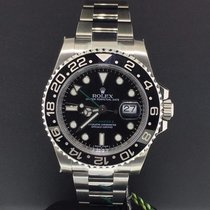 Rolex GMT Master II 40mm Stainless Steel Ref. 116710LN Unworn...