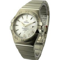 Omega 123.10.31.20.05.001 Constellation 09 Brushed Chronometer...