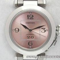 Cartier Pasha C Gran Data 2475 quadrante salmone full set