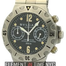 Bulgari Diagono Professional Scuba Chronograph Stainless Steel