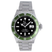 Rolex Submariner Green/Black Anniversary Edition Men's...