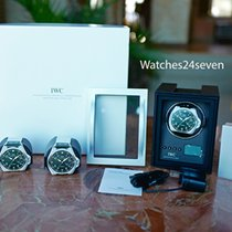 IWC Single Watch Winder Carbon Face Multiple Speeds