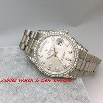 勞力士 (Rolex) Rolex 118389G Daydate WG Original Diamond Bezel...