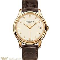 Patek Philippe Calatrava Yellow Gold 39mm Men's Watch