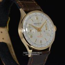 VERY WATCH Cronografo in oro giallo Anni 60 Carica manuale...