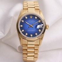 Rolex Rare Rolex Midsize DateJust 68278 Degrading Diamond Dial...