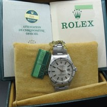 Rolex OYSTER DATE 1501 with Original SIGMA Silver Dial and Papers