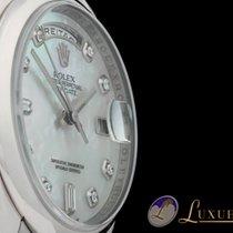 Rolex Day-Date MOP Perlmutt-Zifferblatt mit Diamantbesatz 18kt...