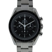 Omega Speedmaster Moonwatch Stainless Steel Black Dial...