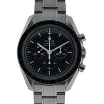 Omega Speedmaster Moonwatch Stainless Steel Black Dial...
