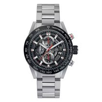TAG Heuer Carrera Automatic Chronograph 43mm Mens Watch Ref...