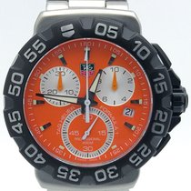 TAG Heuer Formula 1 Chronograph Orange Dial Cah1113.ba0850...