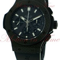 "Hublot Big Bang 44mm ""Carbon"", Black Dial - Carbon..."