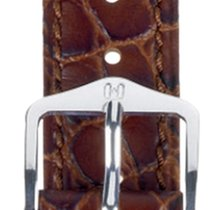Hirsch Uhrenarmband Leder Aristocrat braun L 03828010-2-22 22mm