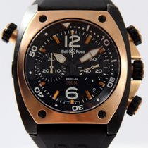 Bell & Ross Rose Gold & Carbon Chronograph