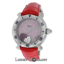 Chopard Mint Ladies Happy Sport 28/8950 Floating Hearts Diamond