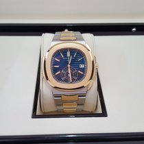 Patek Philippe Nautilus 5980 Stainless Steel and Rose Gold