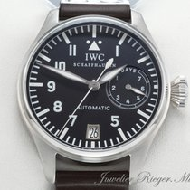 IWC BIG PILOT GROSSE FLIEGERUHR STAHL IW 5002 7 TAGEWERK