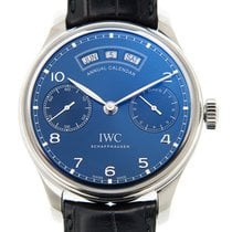 IWC Portuguese Stainless Steel Blue Automatic IW503502