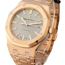 Audemars Piguet 15450OR.OO.1256OR.01 Royal Oak 37mm in Rose...